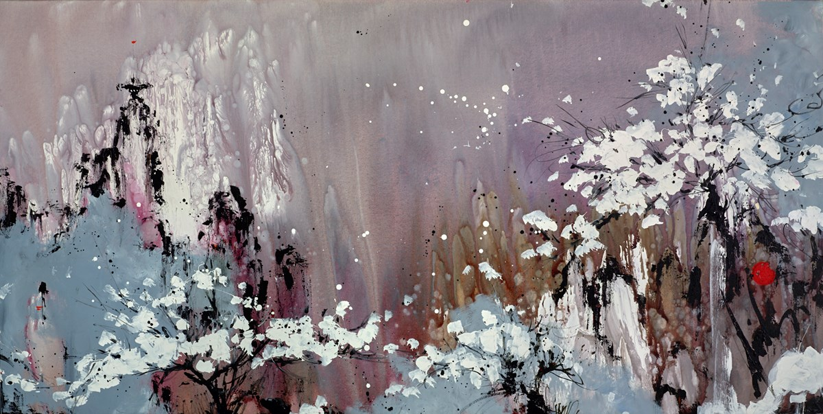 Applauding Nature's Profound Beauty by danielle o'connor akiyama -  sized 60x30 inches. Available from Whitewall Galleries